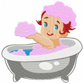 Baby's First Bath #04