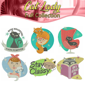 Cat Lady Full Collection