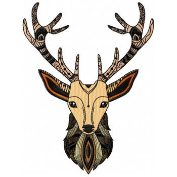 Detailed Deer Face A
