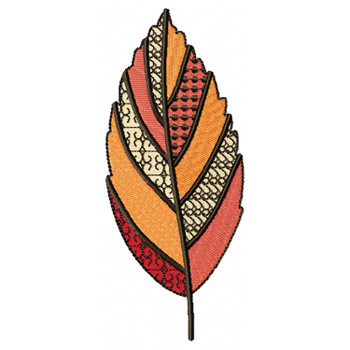 Detailed Autumn Leaves #01