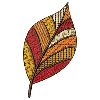 Detailed Autumn Leaves #02