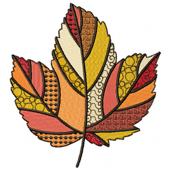 Detailed Autumn Leaves #03