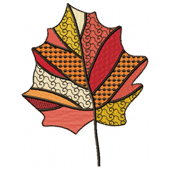 Detailed Autumn Leaves #04