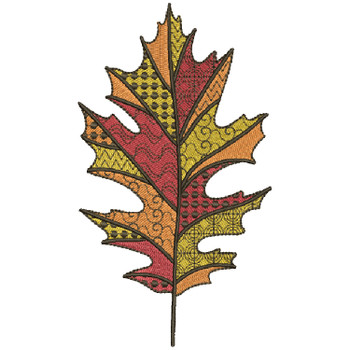 Detailed Autumn Leaves #05