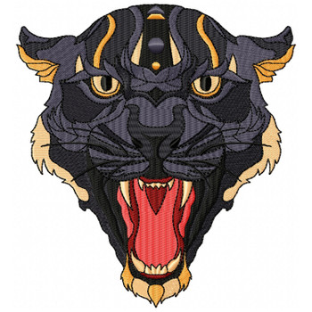 Detailed Panther Face A