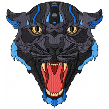 Detailed Panther Face B