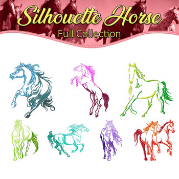 Silhouette Horse Full Collection