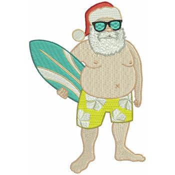 Santa On The Beach #03