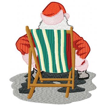 Santa On The Beach #07