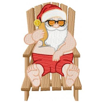 Santa On The Beach #05