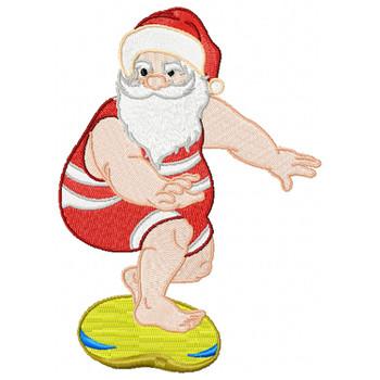 Santa On The Beach #01