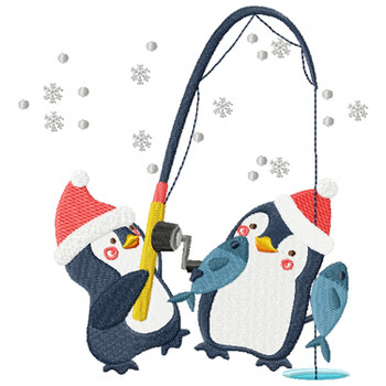 Christmas Penguins #02