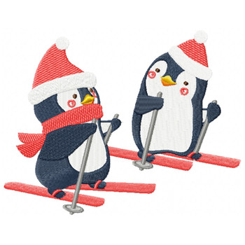 Christmas Penguins #04
