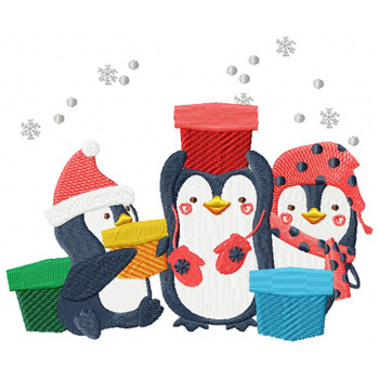 Christmas Penguins #06