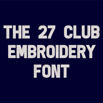 The27ClubEmbroideryFont_ProdPic