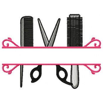 Hairstylist Monogram #01