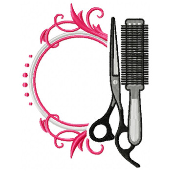 Hairstylist Monogram #02