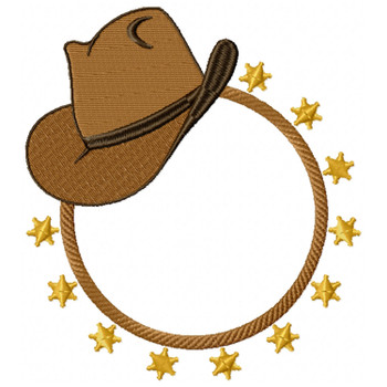 Cowgirl Monogram #01