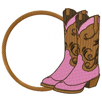 Cowgirl Monogram #02