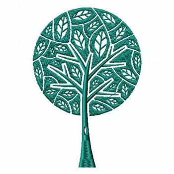 Tree of Life - Shopping Tote Collection #1 Machine Embroidery Design