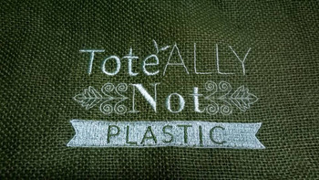 ToteALLY NOT - Shopping Totes Collection #4 Machine Embroidery Design