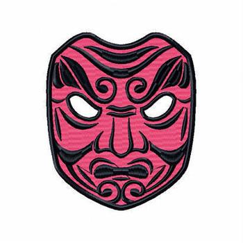 Clown Mask 3 - Masquerade Design Collection #06 Machine Embroidery Design