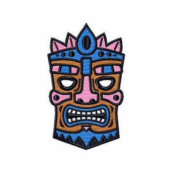 Tribal Mask - Masquerade Design Collection #08 Machine Embroidery Design