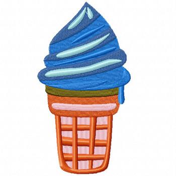 Ice Cream #03 Machine Embroidery Design