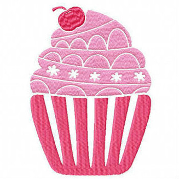 Cupcake #01 Machine Embroidery Designs