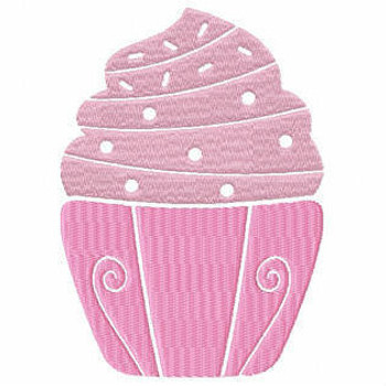 Cupcake #08 Machine Embroidery Designs