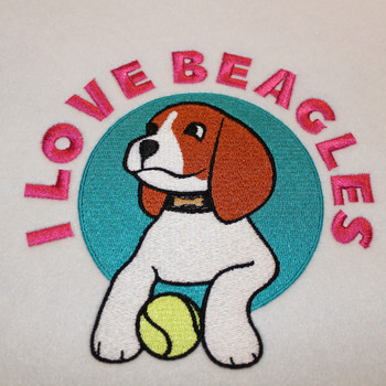 Beagle Collection All 6 Machine Embroidery Designs