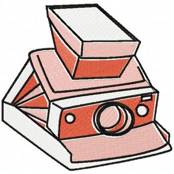 Retro Film Camera - Photography #04 Machine Embroidery Design