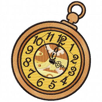 Steampunk Timepiece 01- Steampunk #05 Machine Embroidery Design