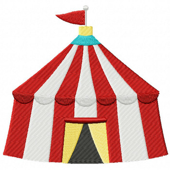 Carnival Tent - Carnival #11 Machine Embroidery Design