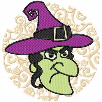 Witch - Happy Halloween #08 Machine Embroidery Design
