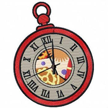 Steampunk Timepiece 03- Steampunk #07 Machine Embroidery Design