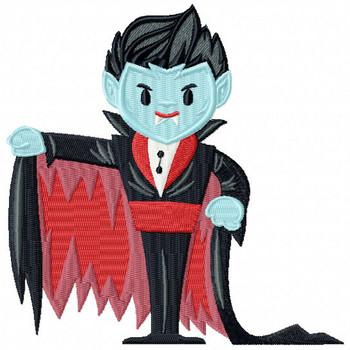 Halloween Vampire - Halloween #10 Machine Embroidery Design