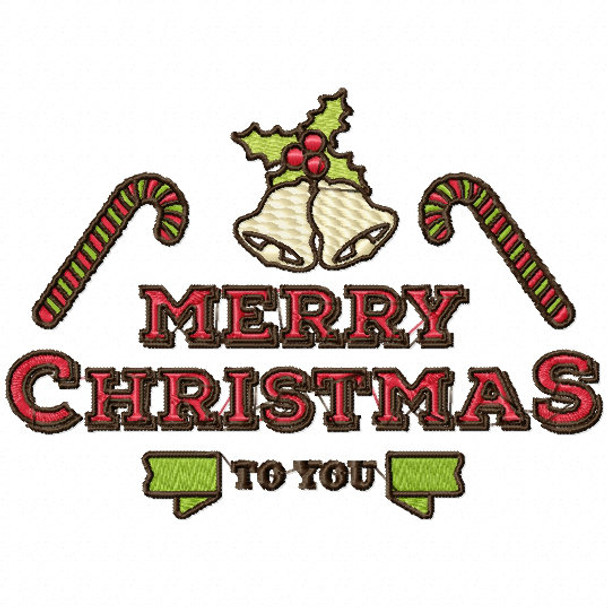 Merry Christmas Labels.Merry Christmas To You Christmas Labels 04 Machine Embroidery Design
