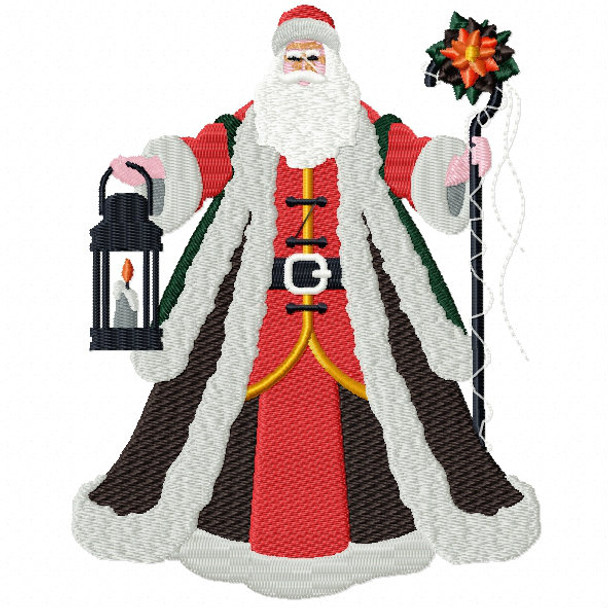 a47098c41d268 Santa Claus - Christmas Character  05 Machine Embroidery Design
