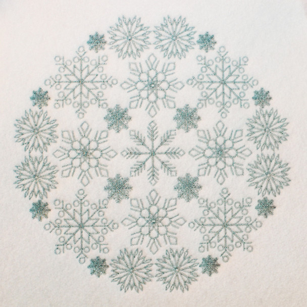 Christmas Mandala #03 Machine Embroidery Design