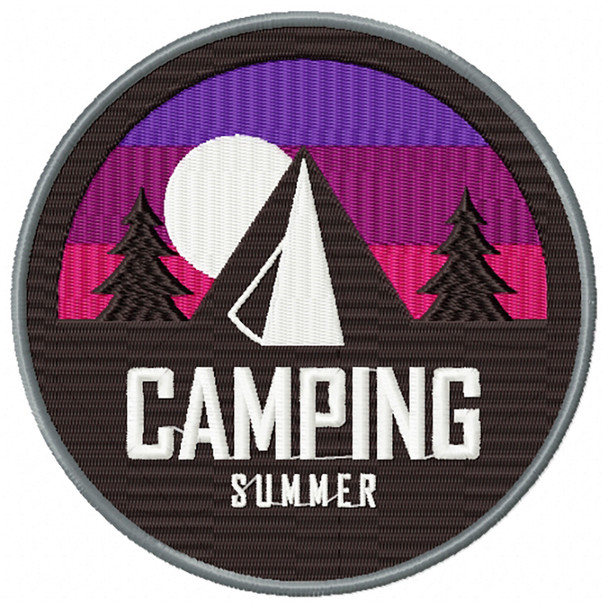 Camping Badges 04