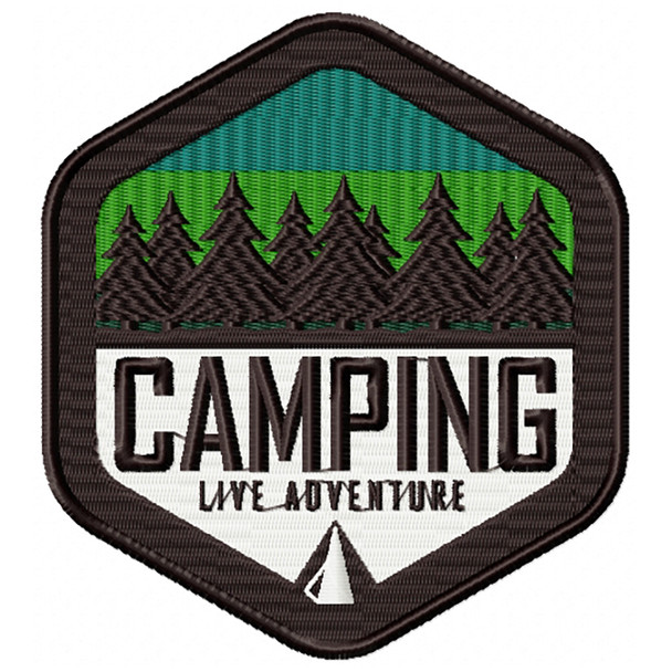 Camping Badges 05