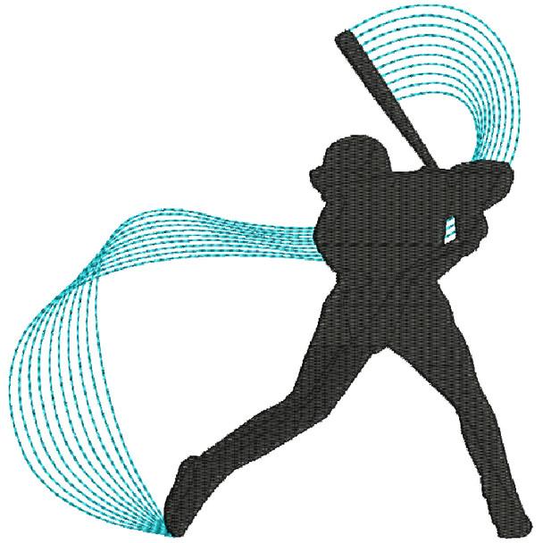 Baseball Line Art #01