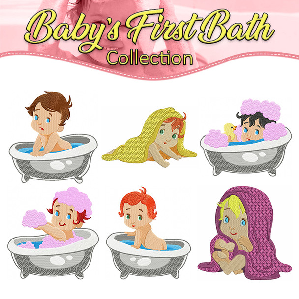 Baby's First Bath Collection