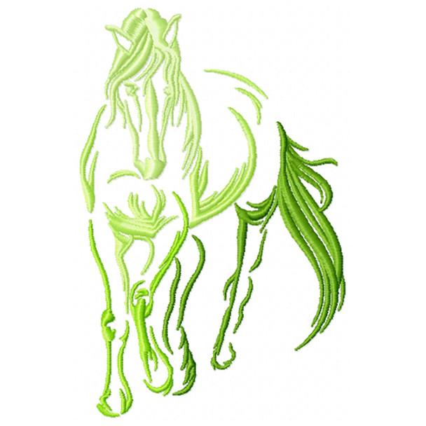 Silhouette Horse #04