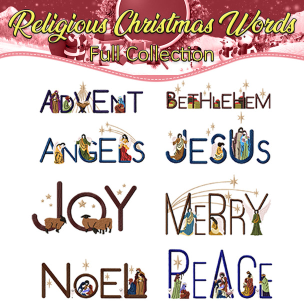 Religious Christmas Words Full Collection