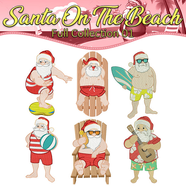 Santa On The Beach Full Collection 01