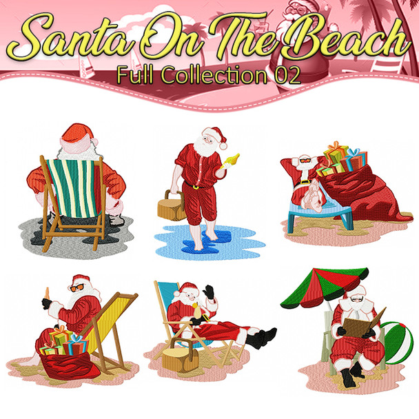 Santa On The Beach Full Collection 02