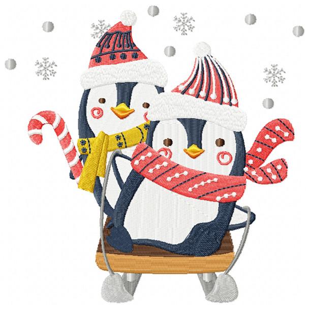 Christmas Penguins #03