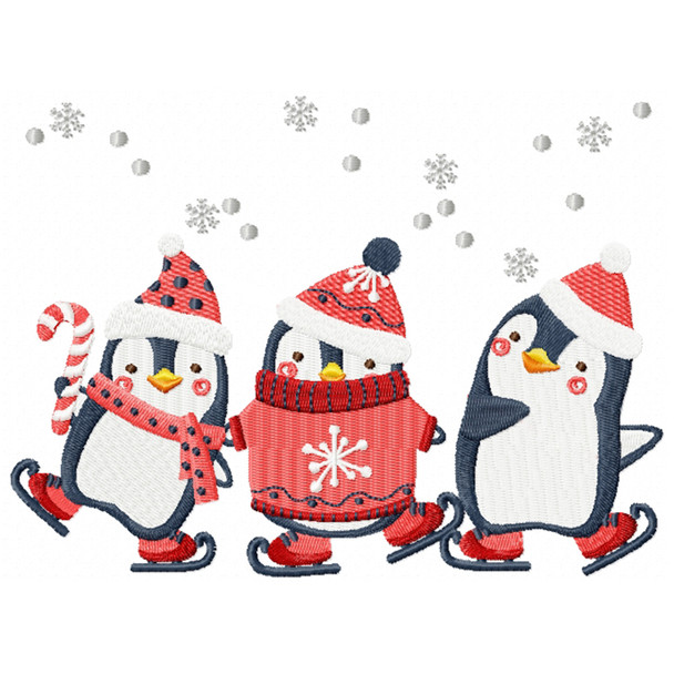 Christmas Penguins #05